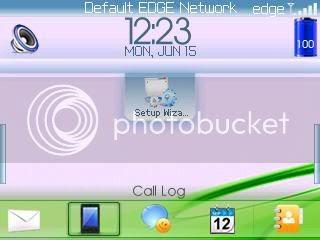 genesis Theme đẹp dành cho BlackBerry 83xx và 87xx