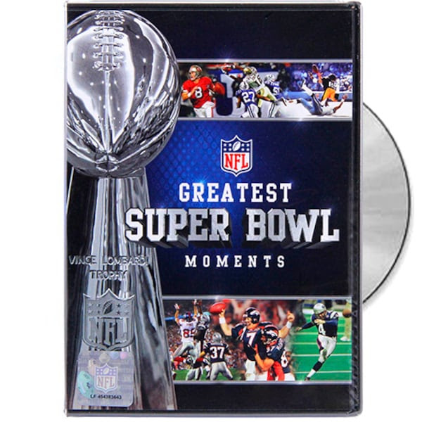 NFL Greatest Super Bowl Moments DVD NFLShop.com