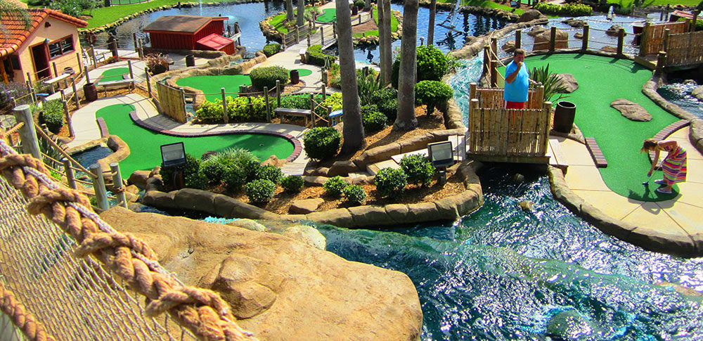 There are two separate 18 hole mini golf courses. Seashore Property Management | Things to do | Old Orchard ...