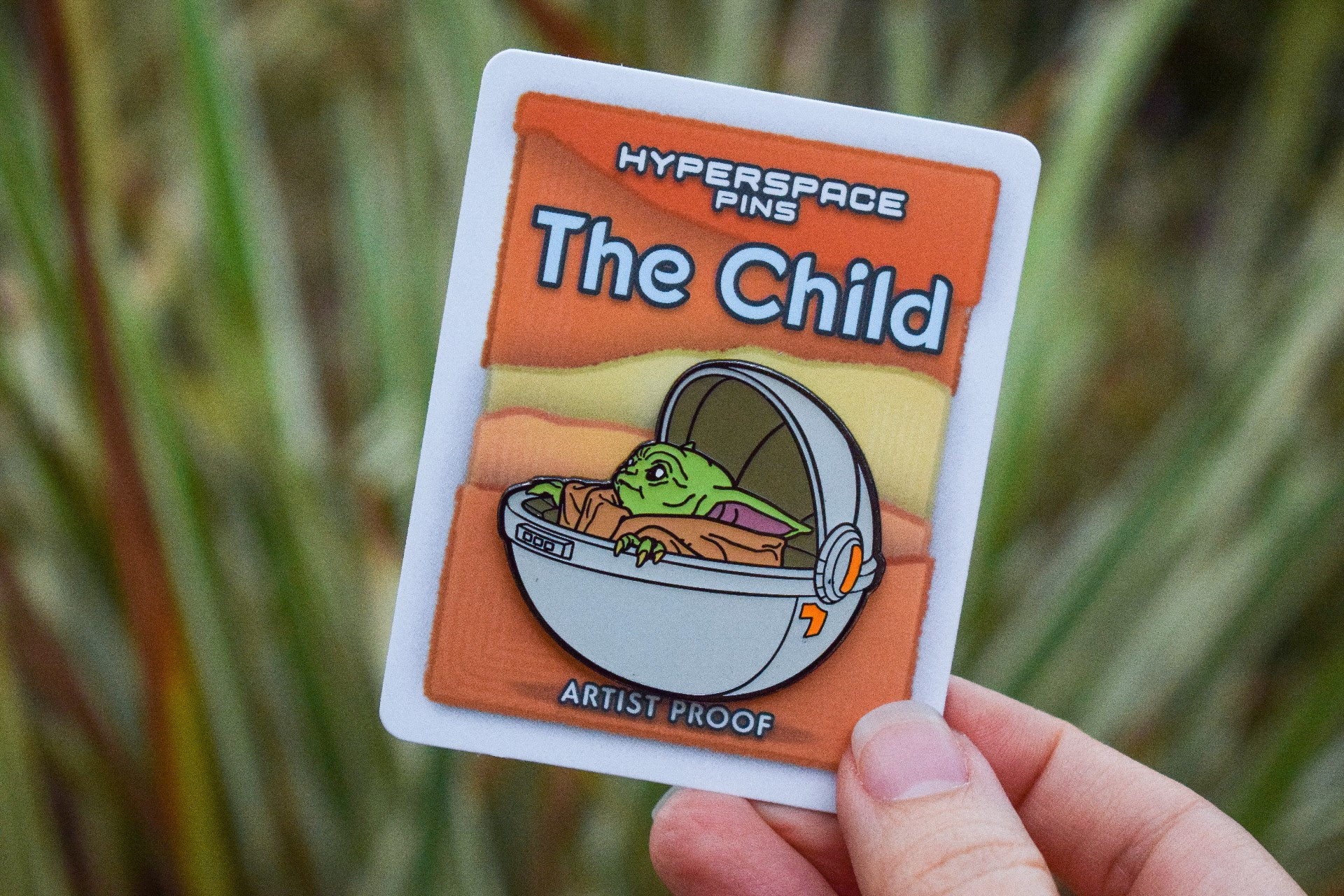 The Child Pin by Hyperspace Pins | Anakin and His Angel