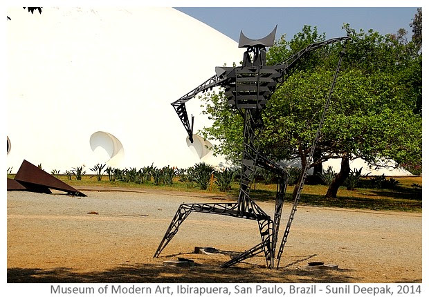 Museum of Modern art, San Paulo, Brazil - Images by Sunil Deepak, 2014