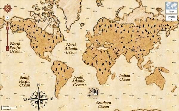 Search Engine Treasure Maps Google Treasure Hunt