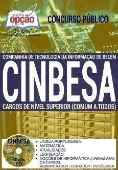 Apostila CINBESA Cargos de Nível Superior