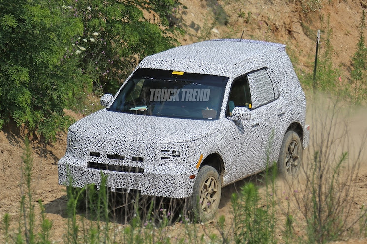 spied 2021 ford baby bronco – called the adventurer or