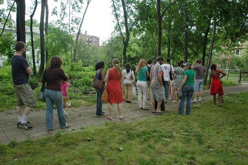 Site Visit, Flatbush Unity Garden