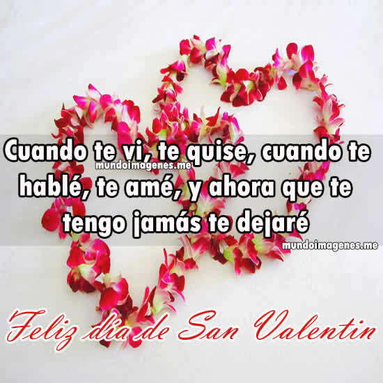 Imagenes De San Valentin Con Frases Romanticas Bonitas Mundo