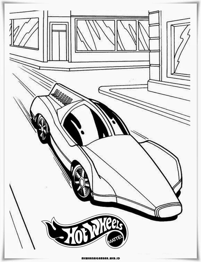 Lihat Mewarnai Gambar Mobil Hot Wheels Keren Terbaru Auto