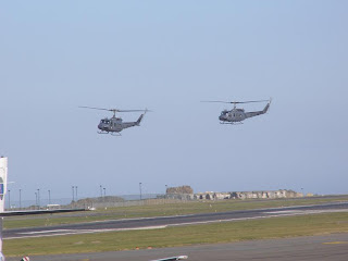 RNZAF Iroquois helicopters