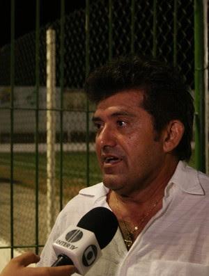 Netinho Matias, técnico do Assu (Foto: Augusto Gomes)