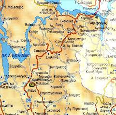 Πολιτικός χάρτης των Παρακαμπύλιων