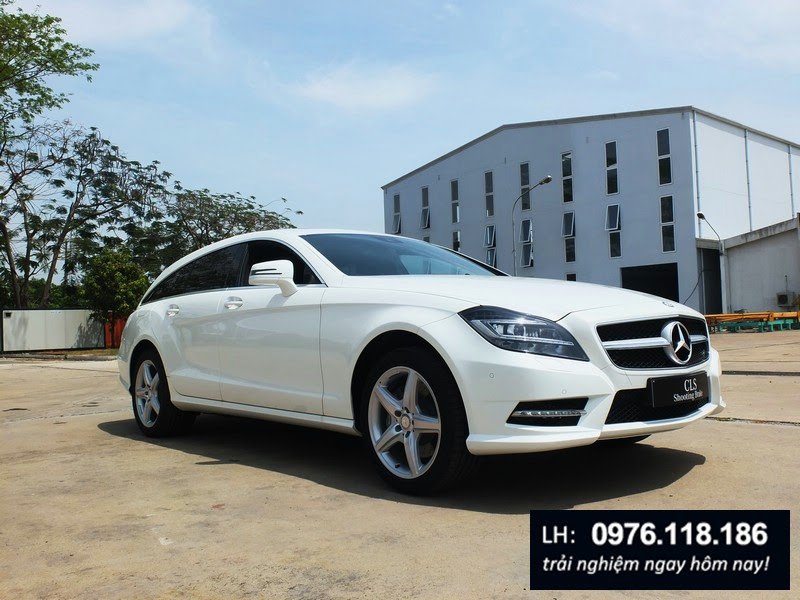 Mercedes Benz CLS350 Shooting Brake 2014 2015 (2)