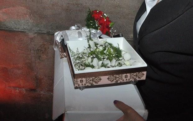 Bouquet de Gracyanne Barbosa (Foto: Isac luz / EGO)