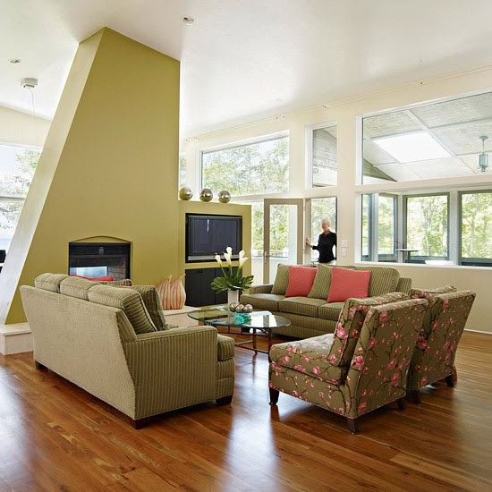 20 Stunning MidCentury Living Room Design