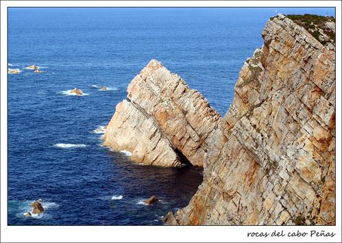 rocas del cabo Peñas