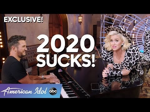 2020 SUCKS! Katy Perry and Luke Bryan Sing Us Into A New Year!