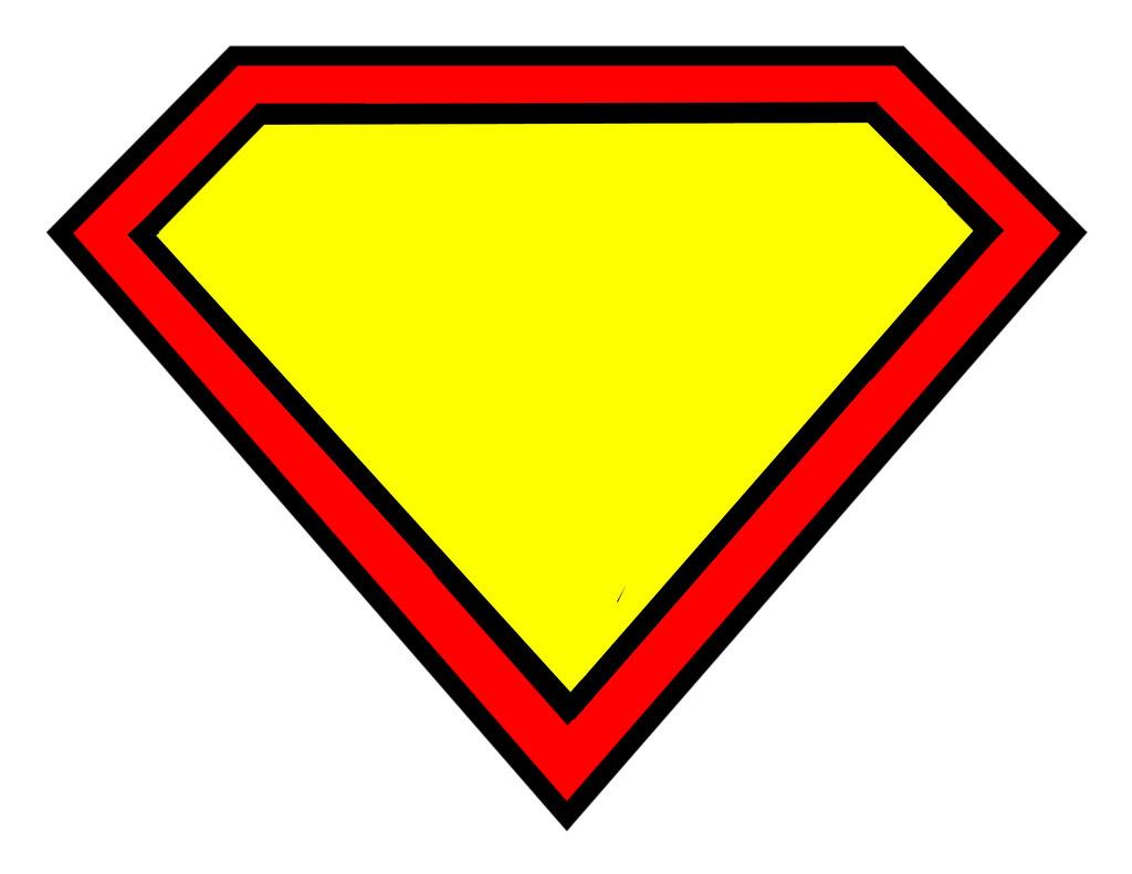 Superman Logo Template - ClipArt Best