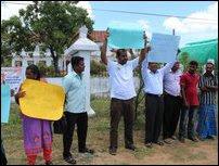 Vaakarai protest