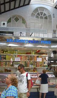 Saladures al mercat central de València