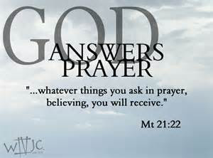 Awesome Thank You God For Answered Prayers Quotes