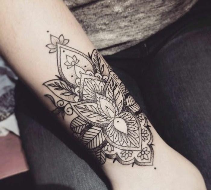 Tattoo mandala unterarm frau Unterarm Tattoo