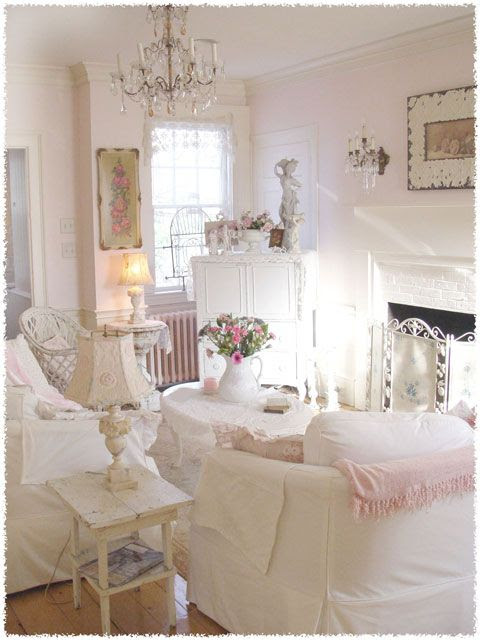Dedicartes salas de estar shabby chic for Sala de estar shabby chic
