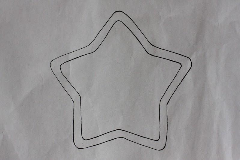 Waldorf Wool Roving Star tutorial