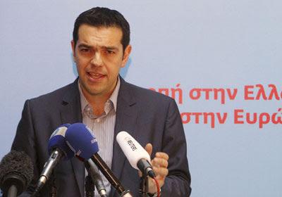 Alexis Tsipras, líder de Syriza - EFE