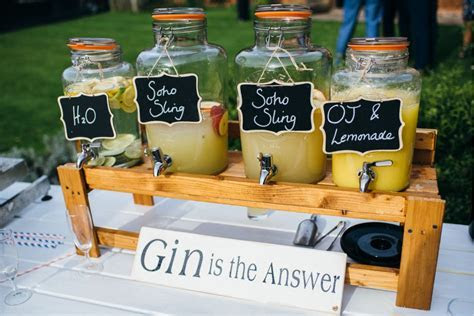 Gin themed wedding ideas   Welcome to Ufton Court