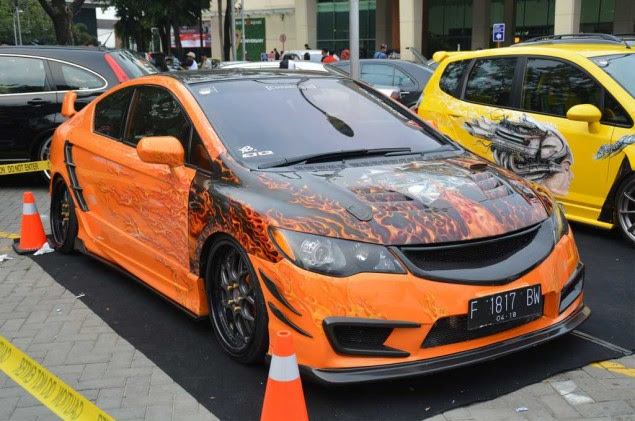 15 Modifikasi Sedan Honda Civic Ferio Terbaru - Otodrift