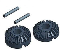 Camco 44595 Rv Stabilizer Jack Pad Pack Of 4 5th Wheel Rv Landing Jack Replacement Bevel Miter Gears Rbw P 137