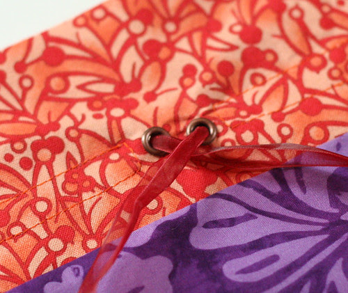 Home Ec Project #2: Drawstring Gift Pouch