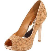 Badgley Mischka Willoe Peep-Toe Pump