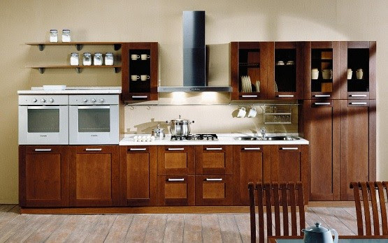 Prefabricated Kitchen Cabinets for Cozy Kitchen | Home Interiors