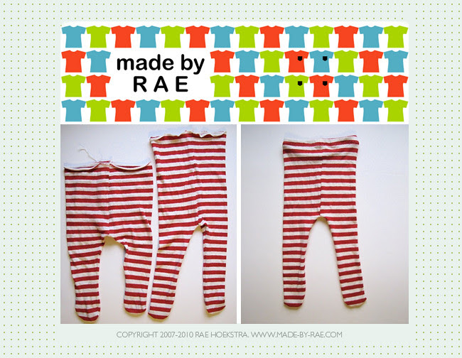 Baby Tights Tutorial by madebyrae