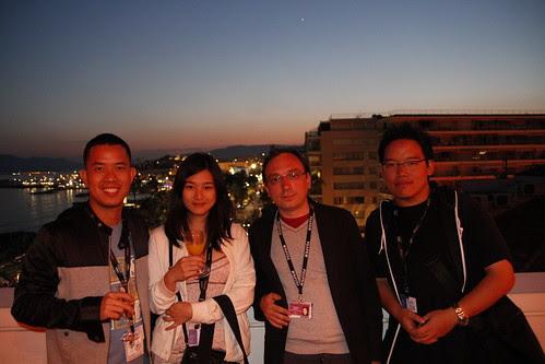 Ming Jin, Fooi Mun, Jeremy and I