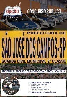 Apostila Concurso Prefeitura de São José dos Campos 2018 | GUARDA CIVIL MUNICIPAL 2ª CLASSE