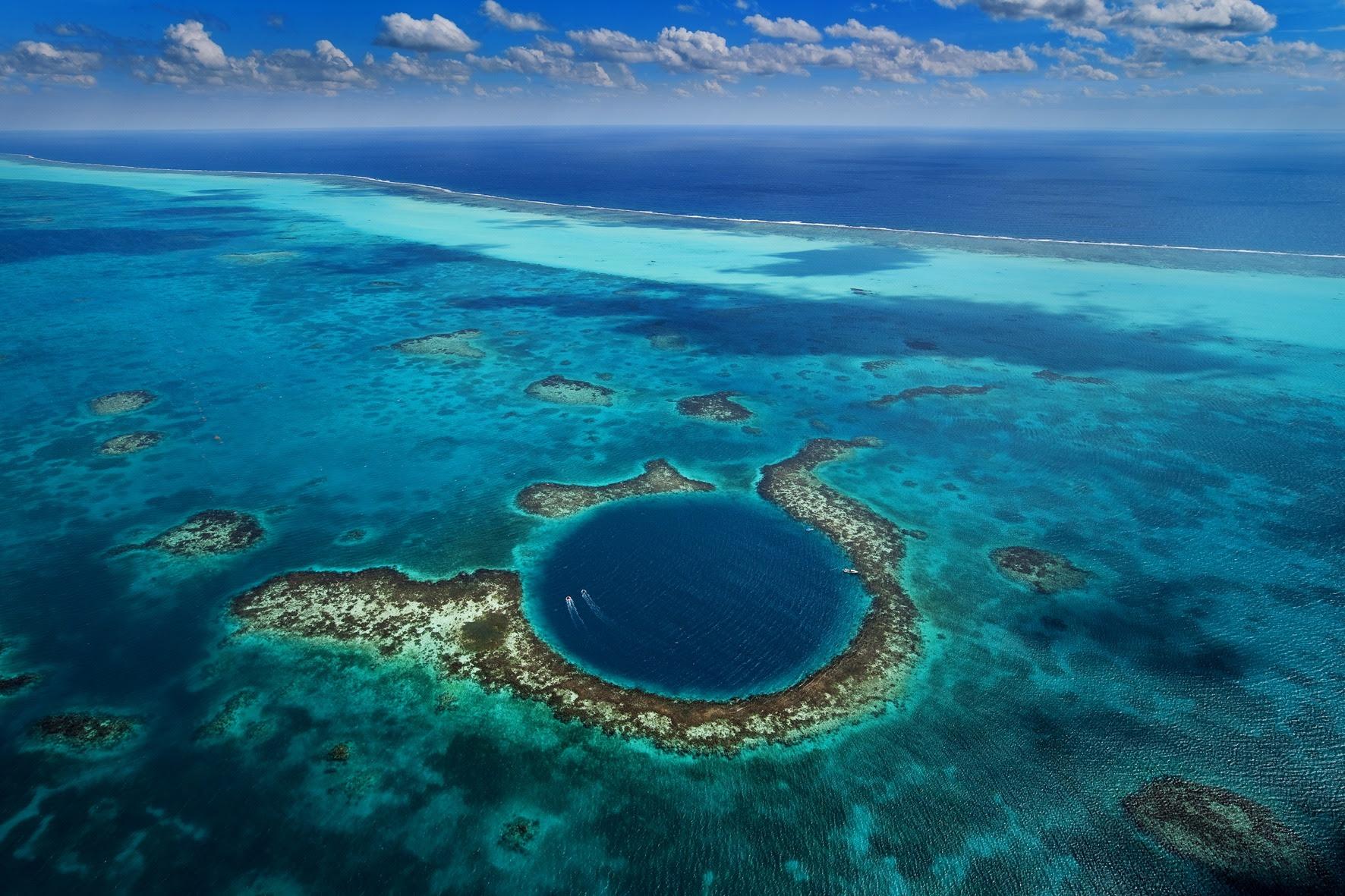 Image result for inside great blue hole