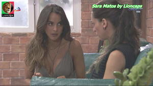 Sara Matos sensual na novela Vidas Opostas