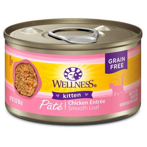 wellness complete health natural grain  kitten wet cat