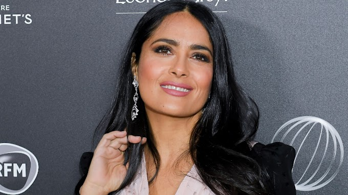 Lucky Offers Ads((Via-News)) Salma Hayek posts nude snap to celebrate Instagram milestone