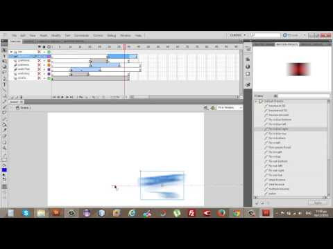 Πως να να δώσουμε κίνηση στα σύννεφα και να βάλουμε animation στο website μας στο flash