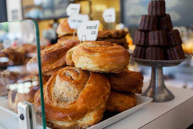 food from the sparrow bakery in Bend