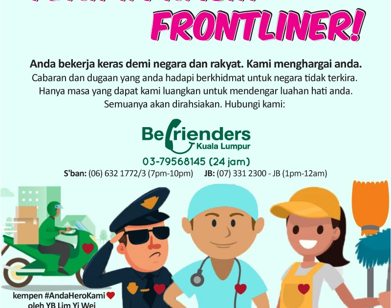 Contoh Ucapan Terima Kasih Kepada Frontliner