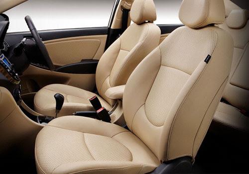 Hyundai Verna Front Seats