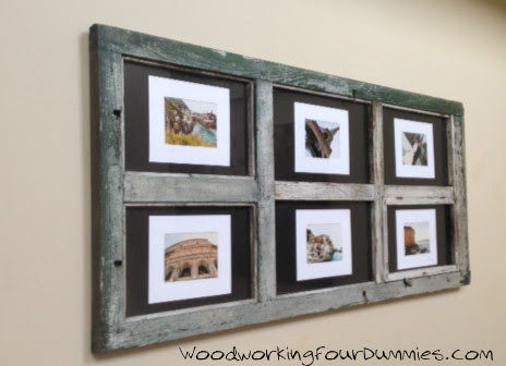 Ana White Door Picture Frame Diy Projects