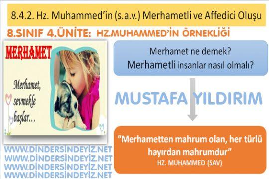 8.Sınıf 4.ünite:Hz.Muhammed