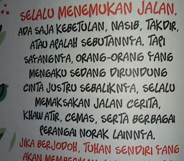 Kumpulan Quotes Wattpad Indonesia  s Carta De