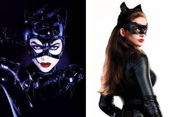 Michelle Pfeiffer Su Catwoman E Anne Hathaway