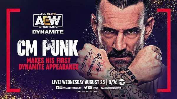Watch AEW Dynamite Live 8/25/21 August 25th 2021 Online Full Show Free