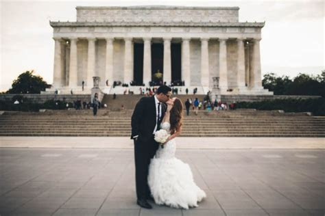 Elegant Washington DC Wedding at Top of the Town   Junebug